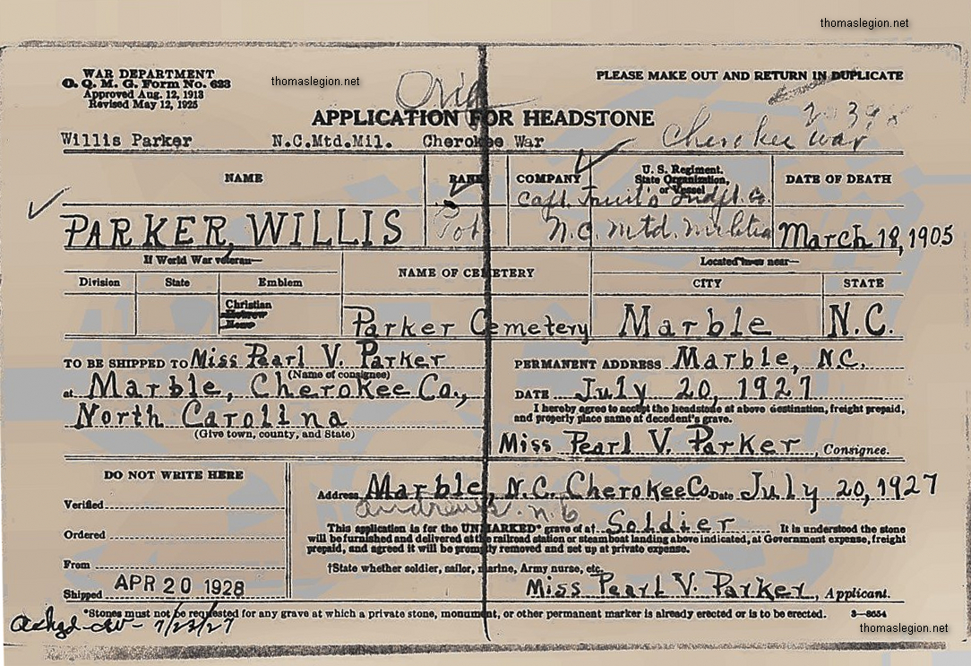 Willis Parker Headstone Application.jpg